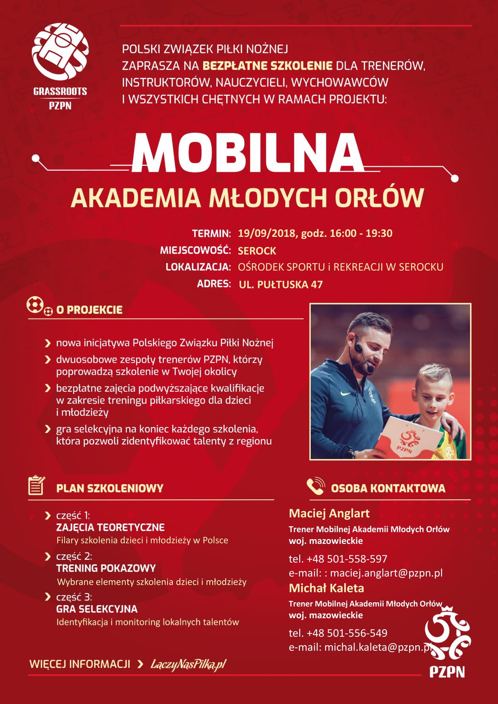 Mobilna Akademia Młodych Orłów Polskiego Związku Piłki Nożnej